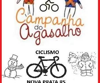CAMPANHA DO AGASALHO DO CICLISMO NOVA PRATA!!!